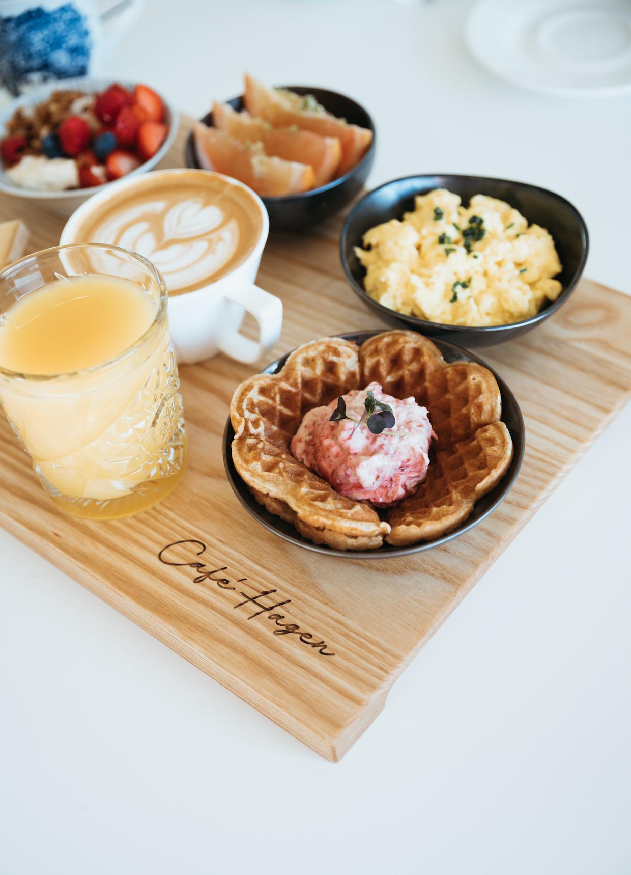 Cafe Hagen food