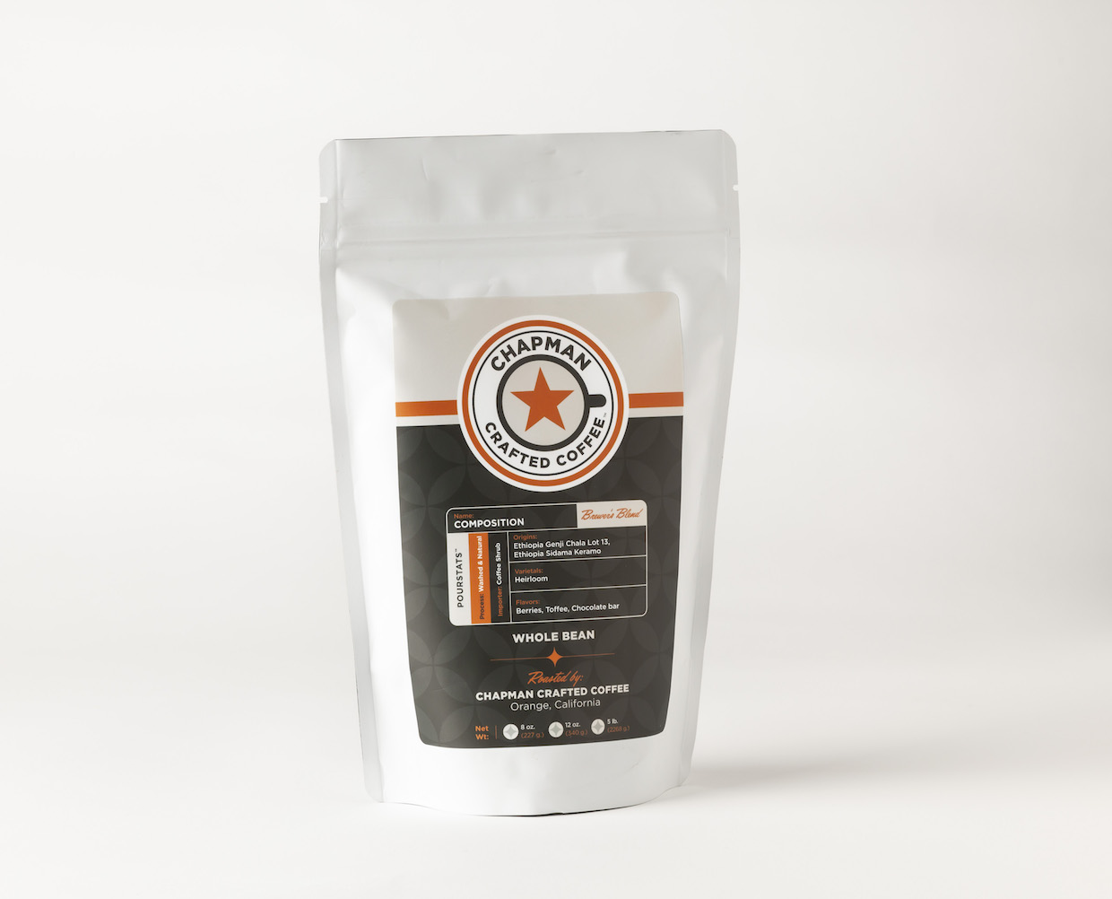 Chapman Crafted Coffee blend