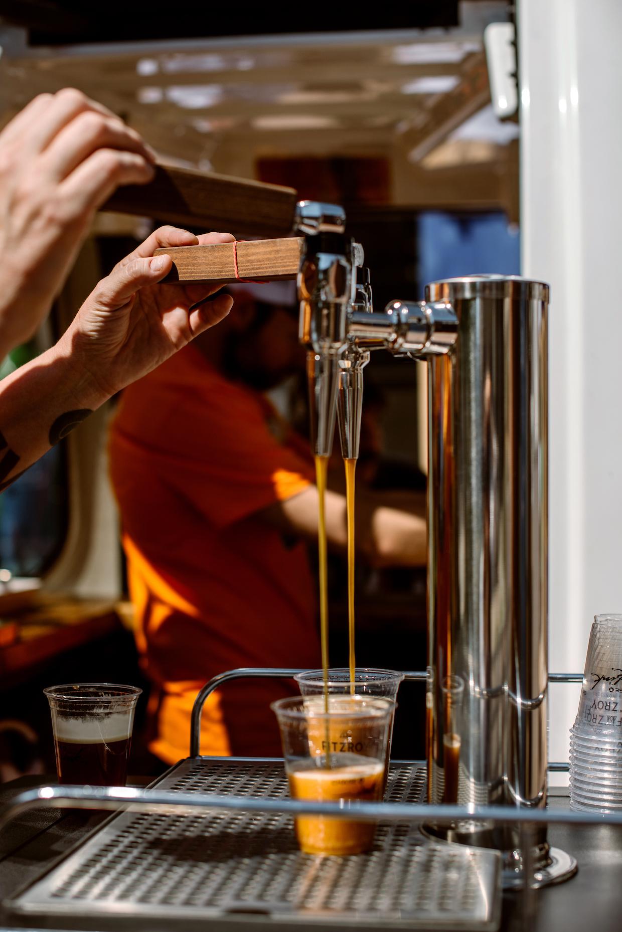nitro cold brew taps