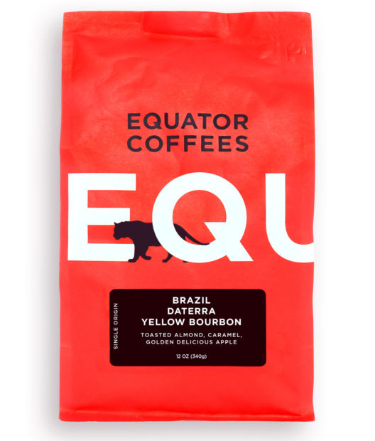 Equator Coffees Brazil Yellow Bourbon Daterra