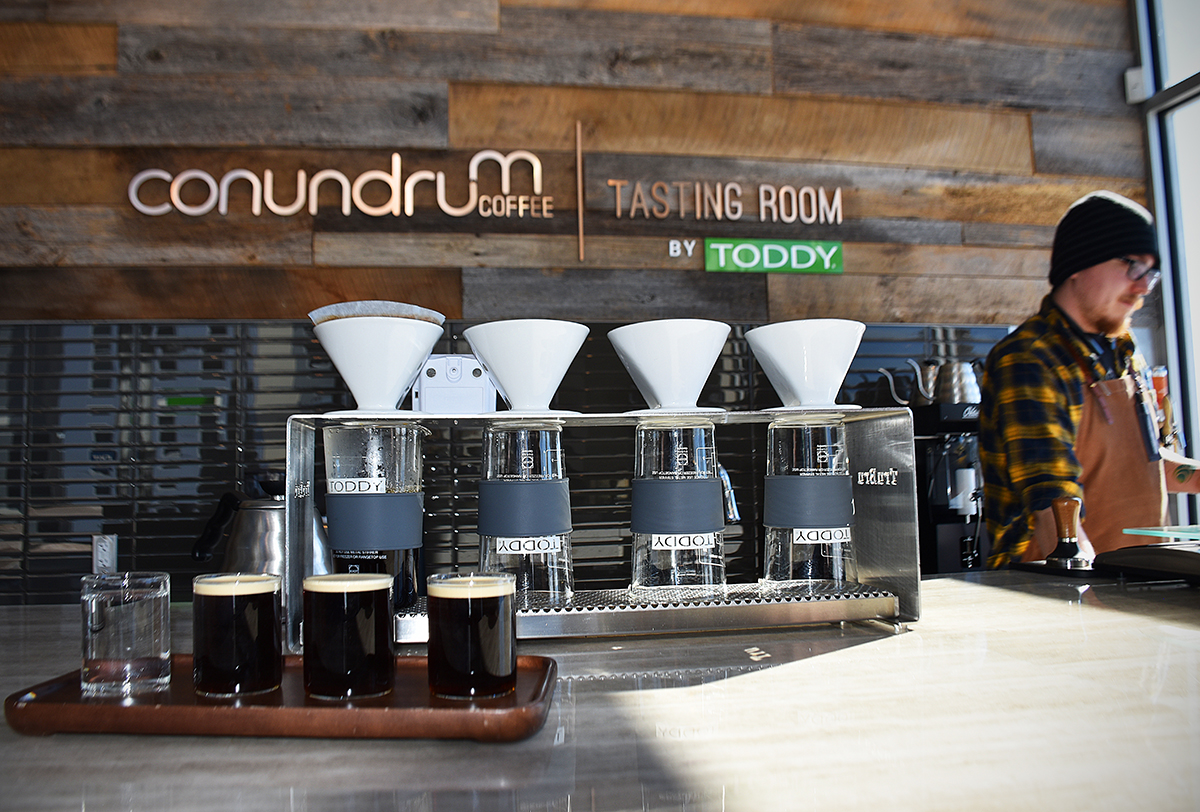 Conundrum Coffee by Toddy