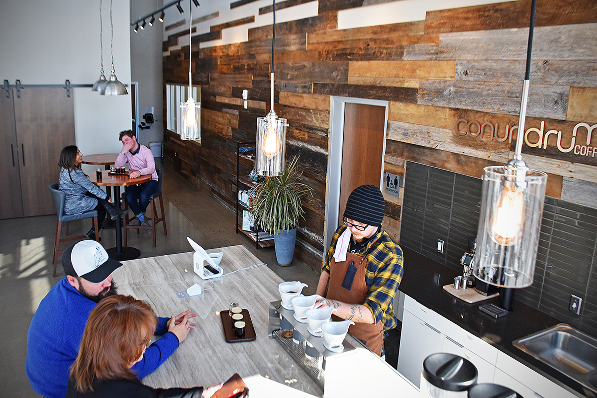 toddy cold brew tasting room
