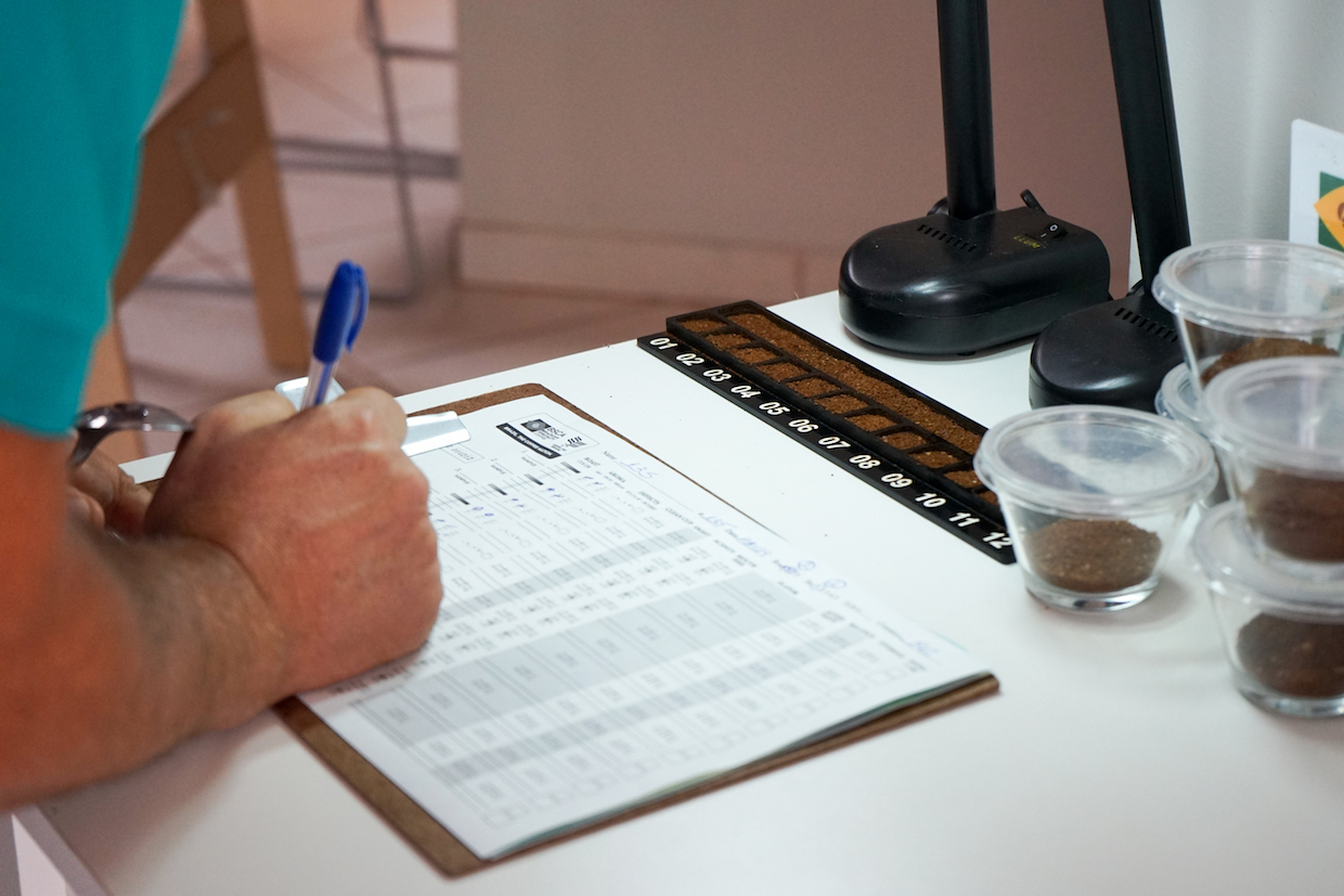 Cup of Excellence cupping form