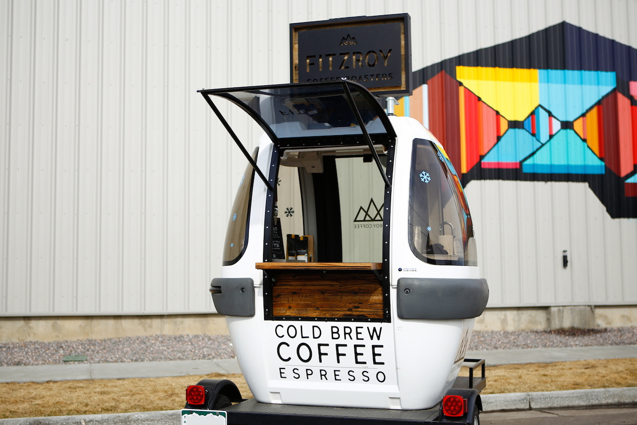 Fitzroy Coffee gondola