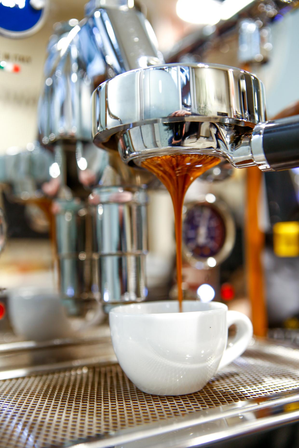 espresso shot pull