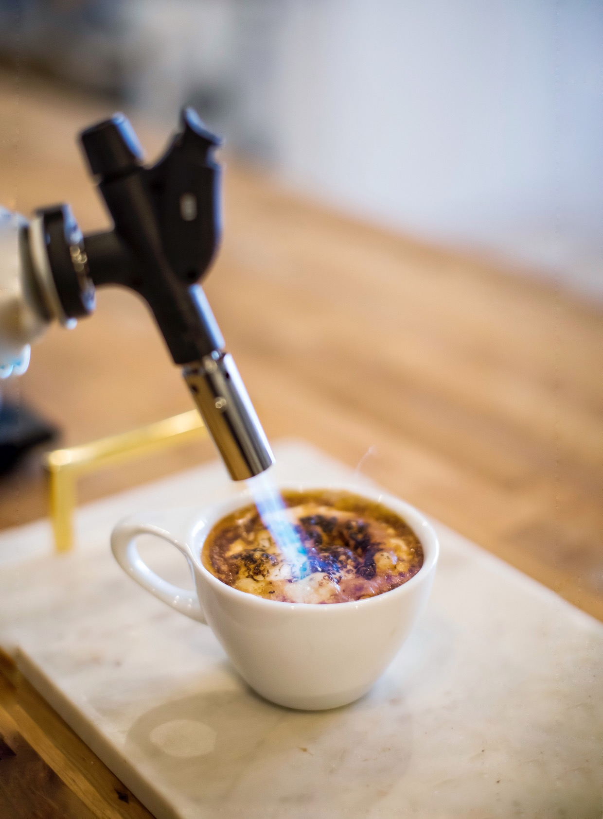 coffee drink gun
