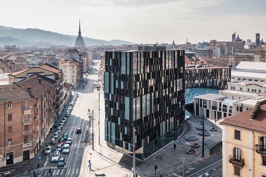 Lavazza headquarters turin