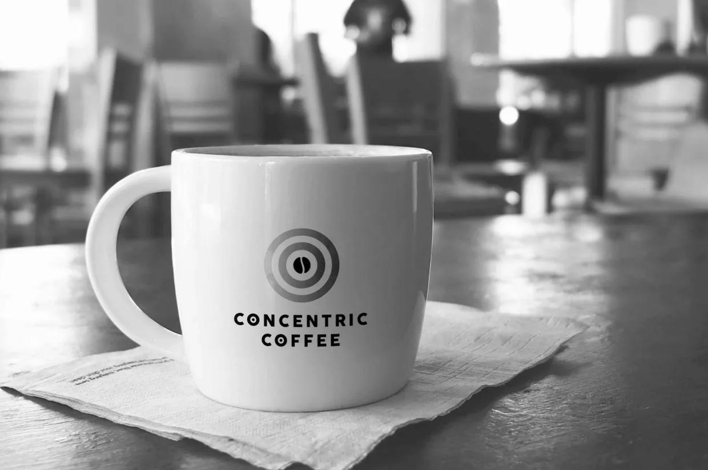 Concentric Coffee mug