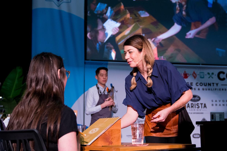 Andrea Allen barista champion