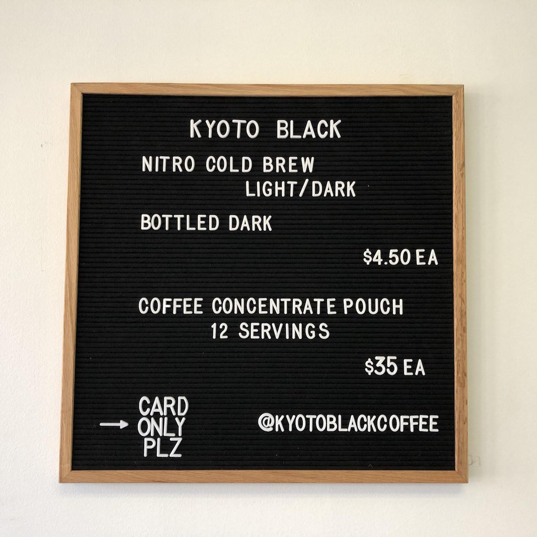 clack coffee menu