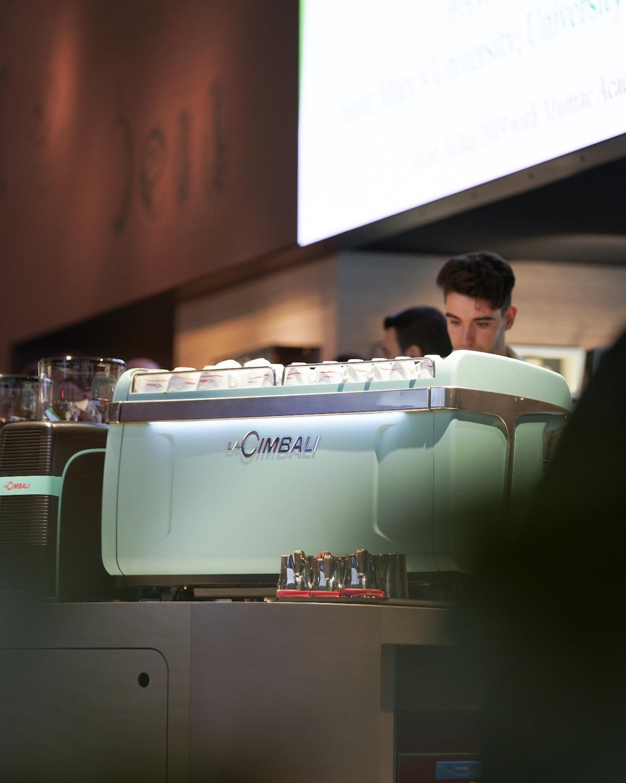 La Cimbali espresso