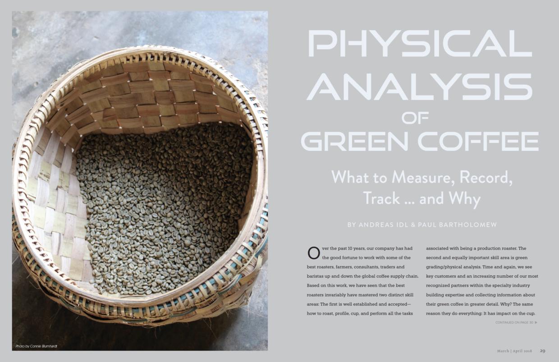 Physical Analysis
