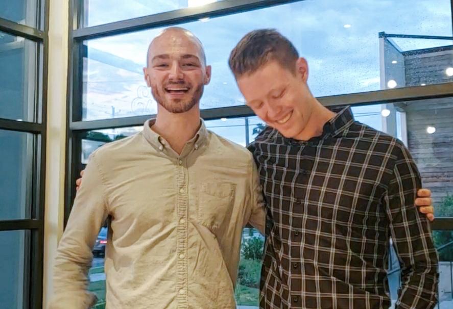 Tyler and Erik