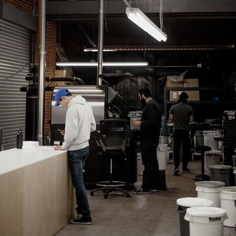 Stereoscope roastery LA