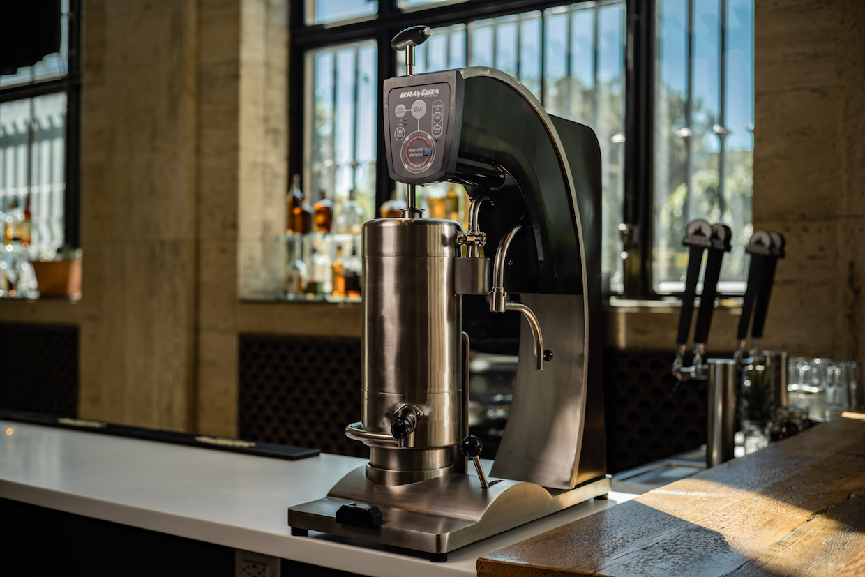 Bravura Press coffee machine