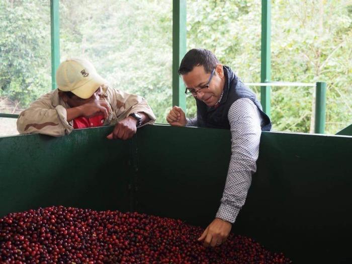 Nicaragua coffee farmer