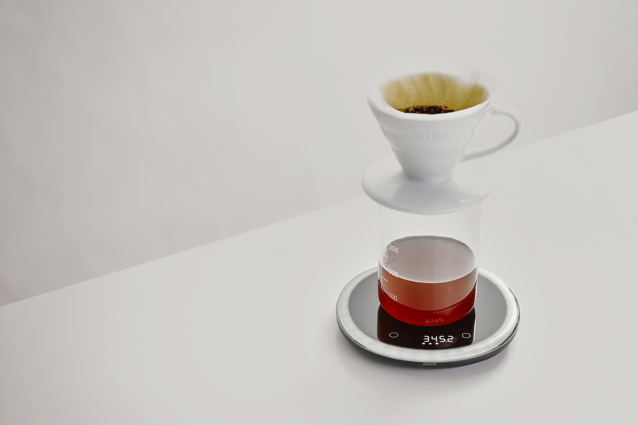 PourX Oura coffee scale 1