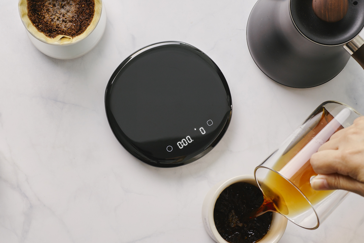 PourX Oura coffee scale 4