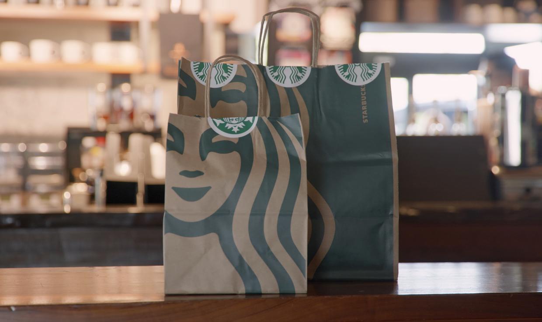 Starbucks bags