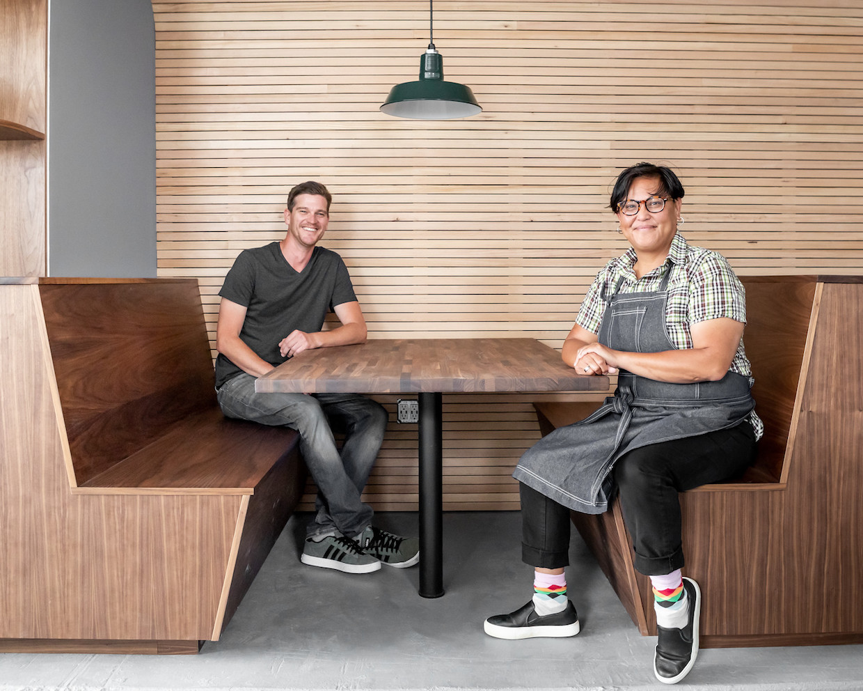 Noe Cafe owners