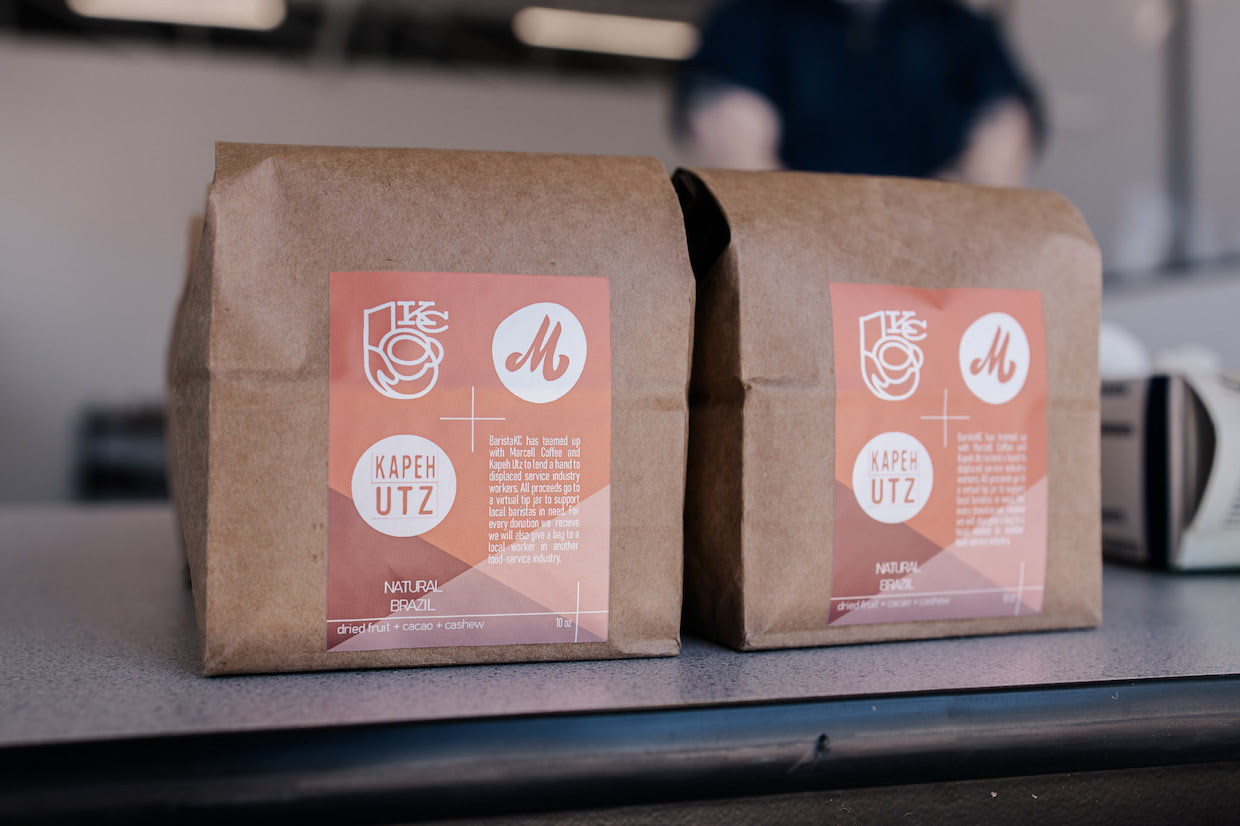 Barista KC and Marcell Collab retail bag – photo by Ben White