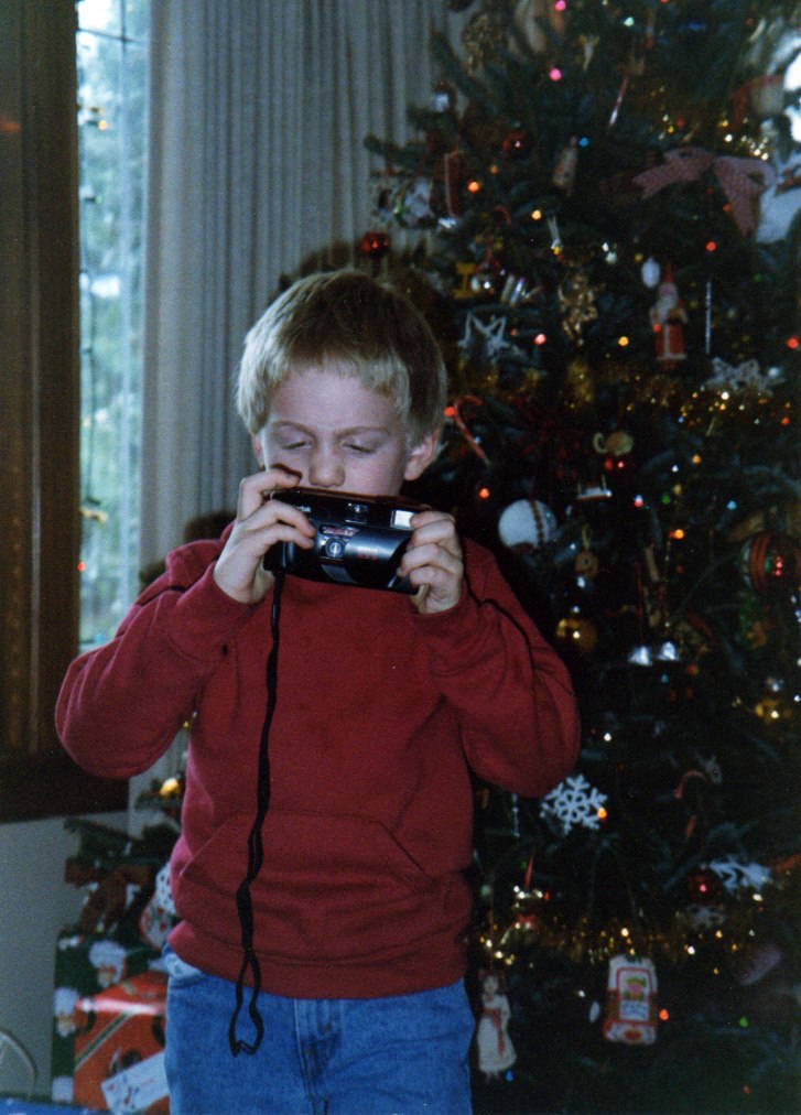 Evan in 1992