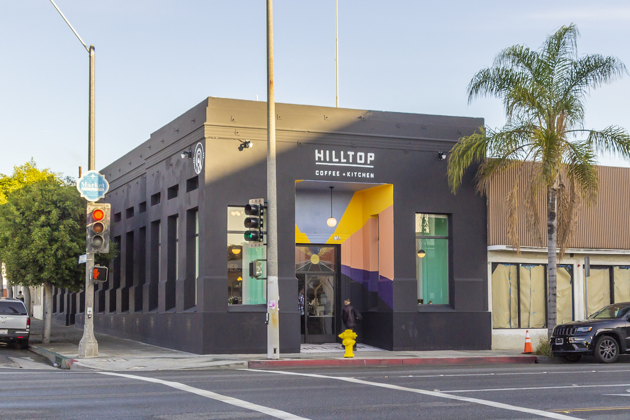 Hilltop Coffee + Kitchen exterior