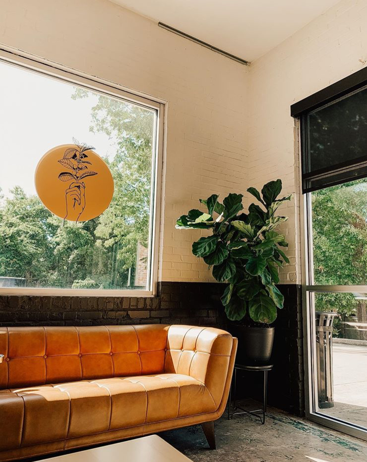 coffee shop couches