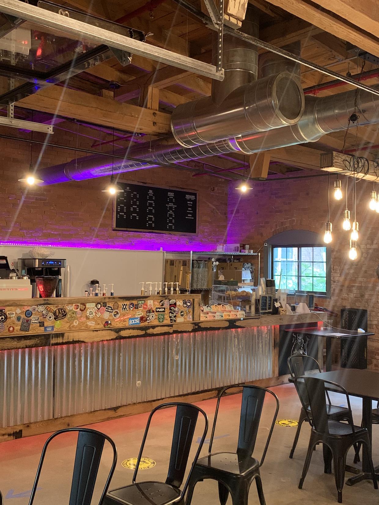 Perkatory Coffee Roasters cafe