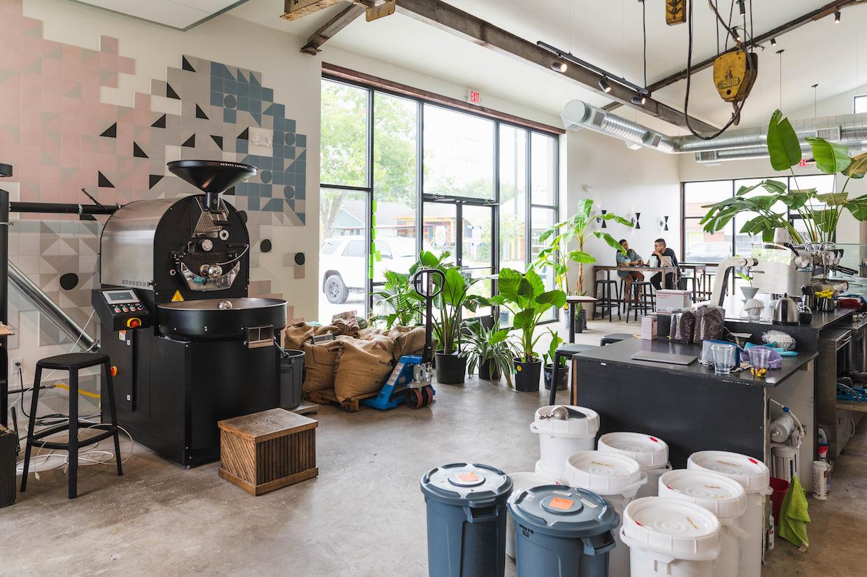 Tenfold Coffee roaster