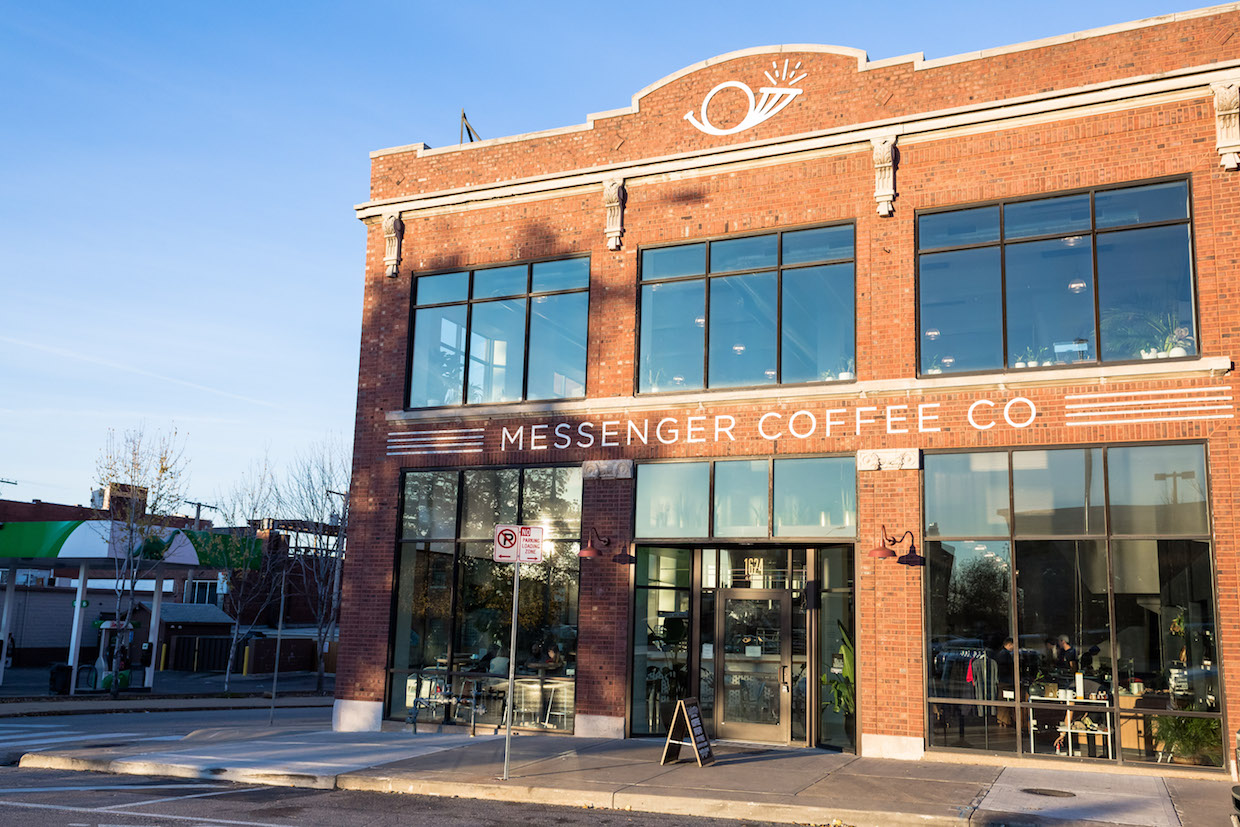 Messenger coffee bar