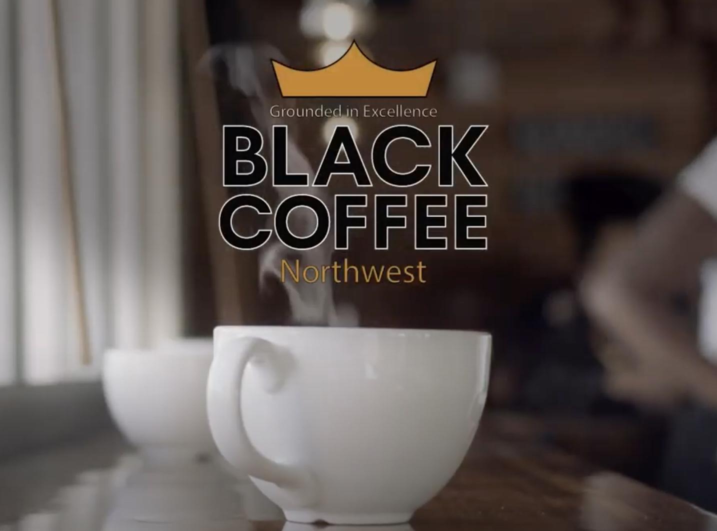 Café noir du nord-ouest