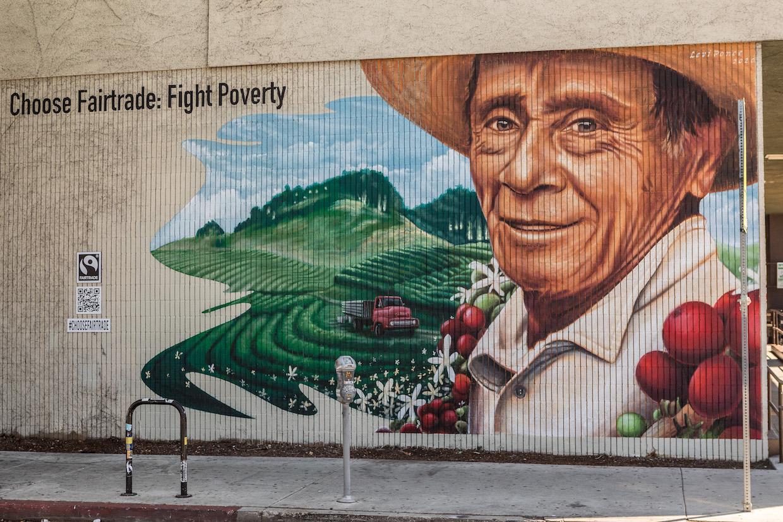 Los Angeles Choose Fairtrade Mural