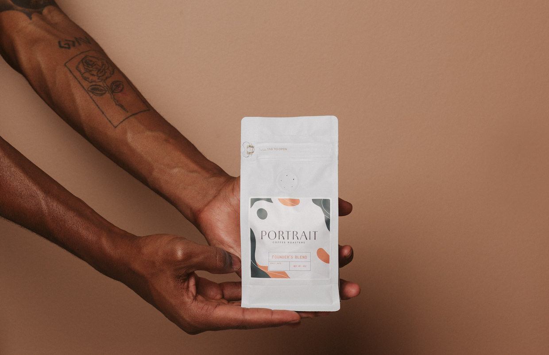 Portrait Coffee bag