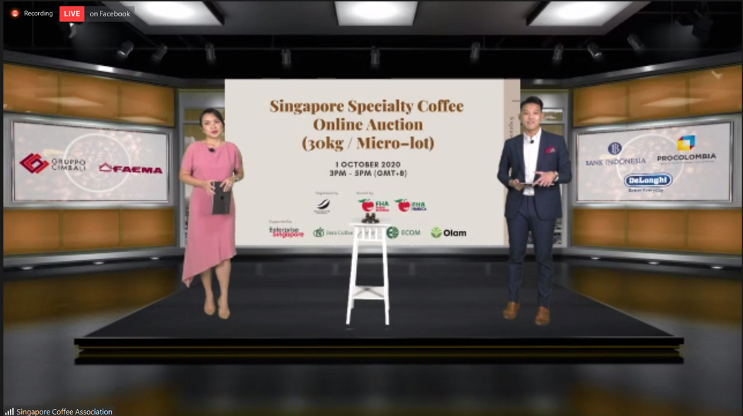 Singapore Specialty Coffee Auction
