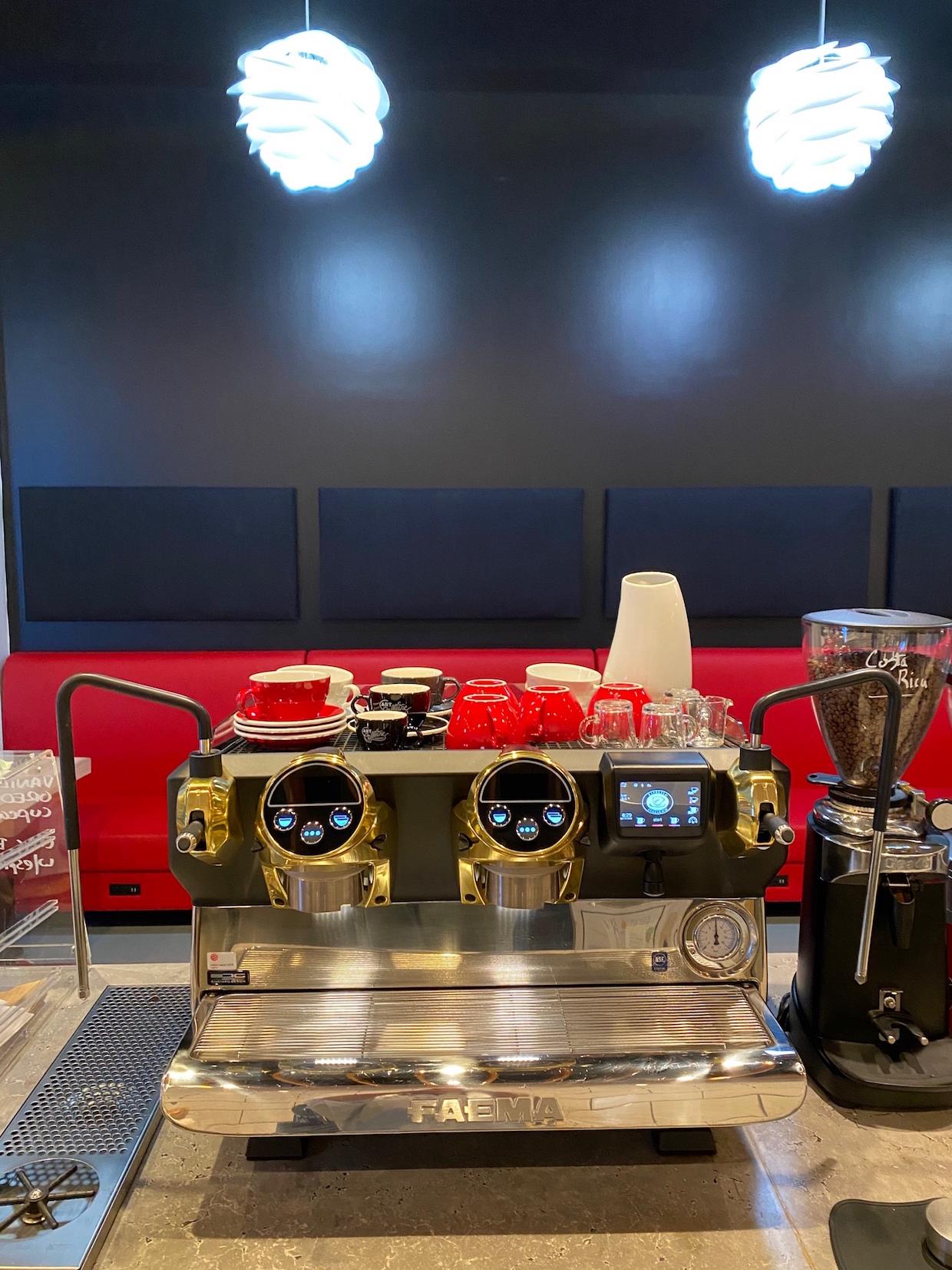 Skytop Coffee espresso machine