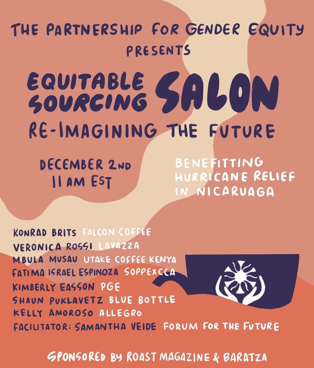 Partnership for Gender Equity Equitable Sourcing Salon