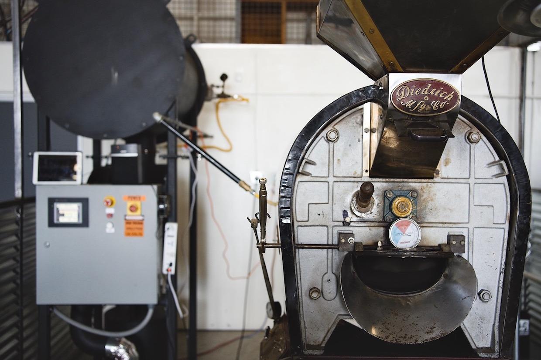 Vintage Diedrich roaster