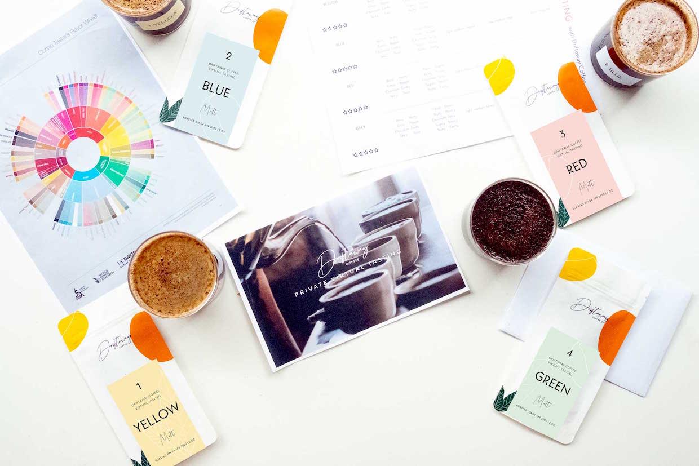 Driftaway Coffee virtual tasting