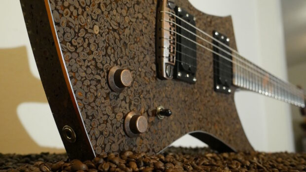 Copper Cofffee guitar