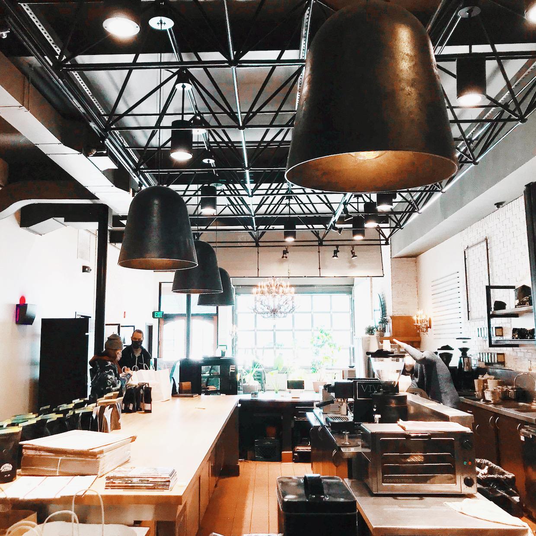 inside Vivid Coffee