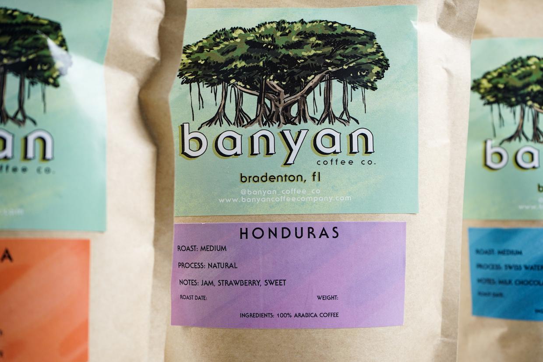 Banyan coffee bag