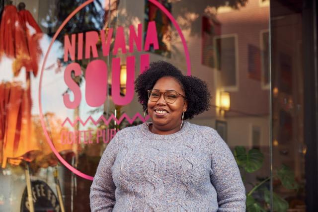 Nirvana Soul Coffee shot in San Jose, CA.