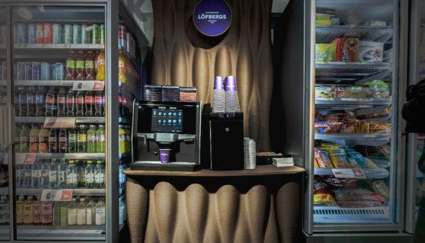 Lofbergs coffee station