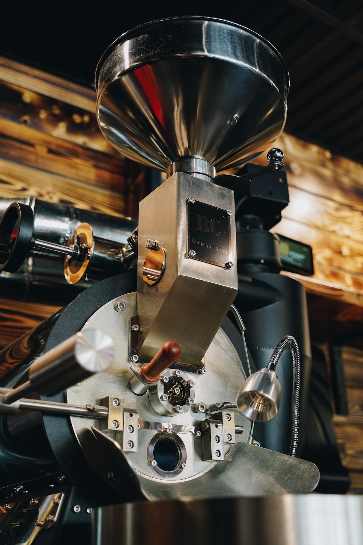 BC 4 Buckeye coffee roaster