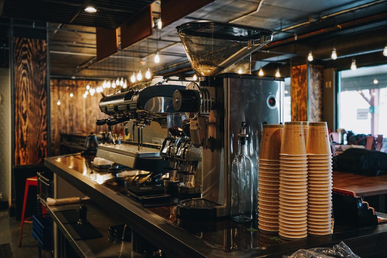 Steep coffee bar