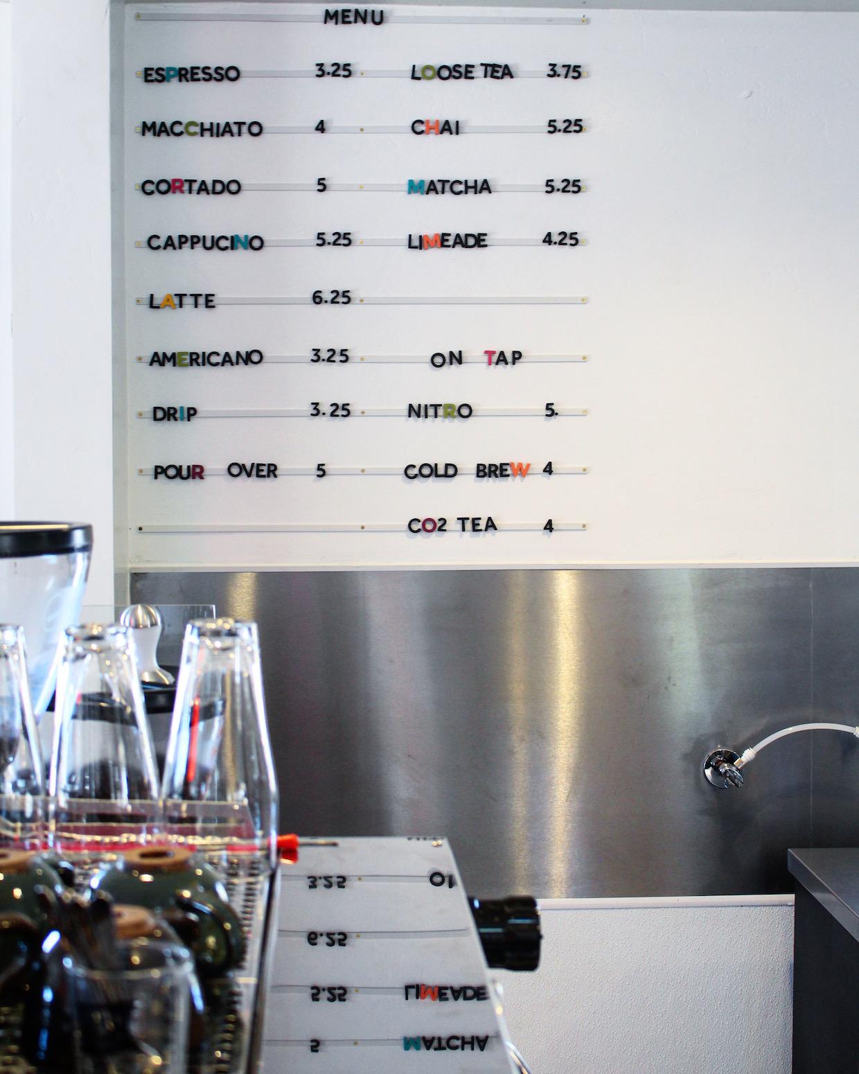 世外桃源咖啡菜單