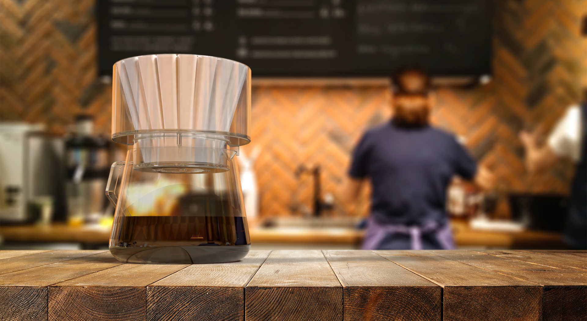 Simplify the Brewer cafe
