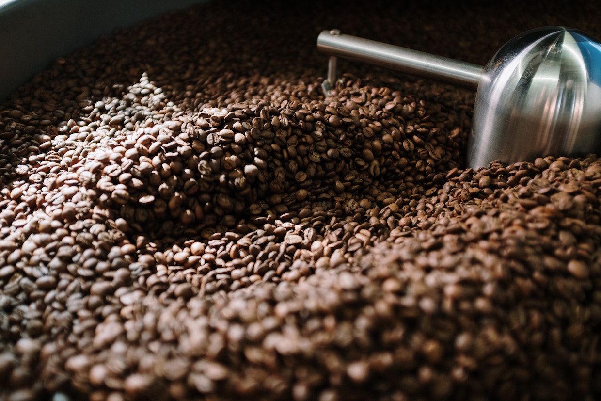 coffee roasting cooling tray