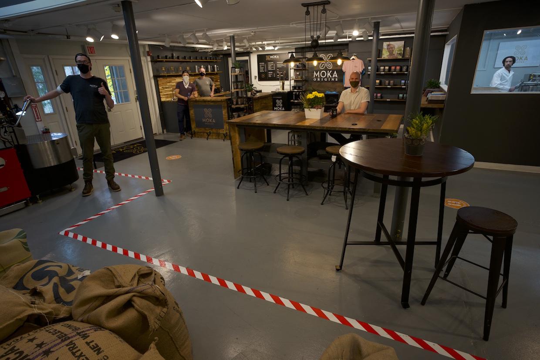 Moka Origins cafe